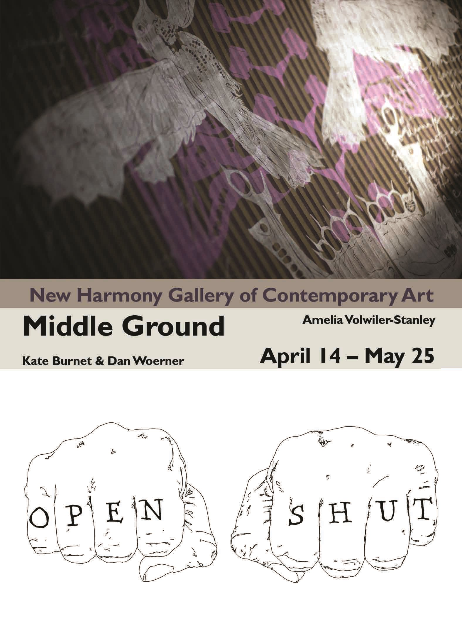 New Harmony Gallery opens new exhibition, Middle Ground