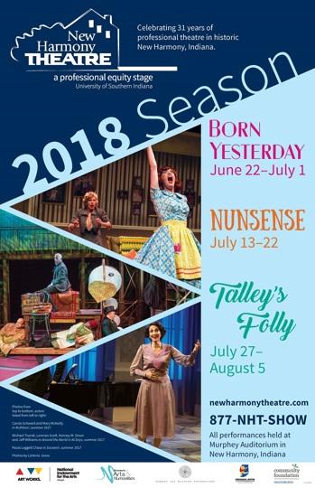 New Harmony Theatre 2018 Season