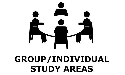 Group and Individual Study Areas