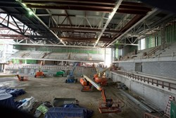 Interior renovation of the PAC