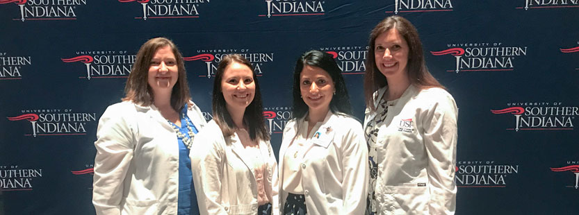 Master of Science in Nursing students at USI