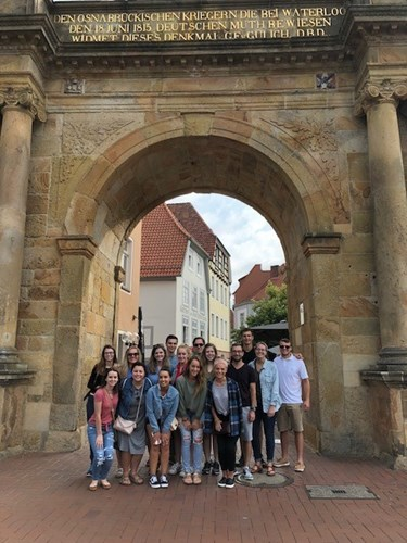 USI Students at Osnabruck Germany study abroad