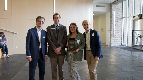 Henderson County High School placed first in the business case challenge