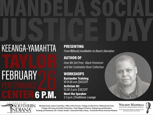 2019 Mandela Social Justice Day Keynote 6 p.m. Tuesday, February 26
