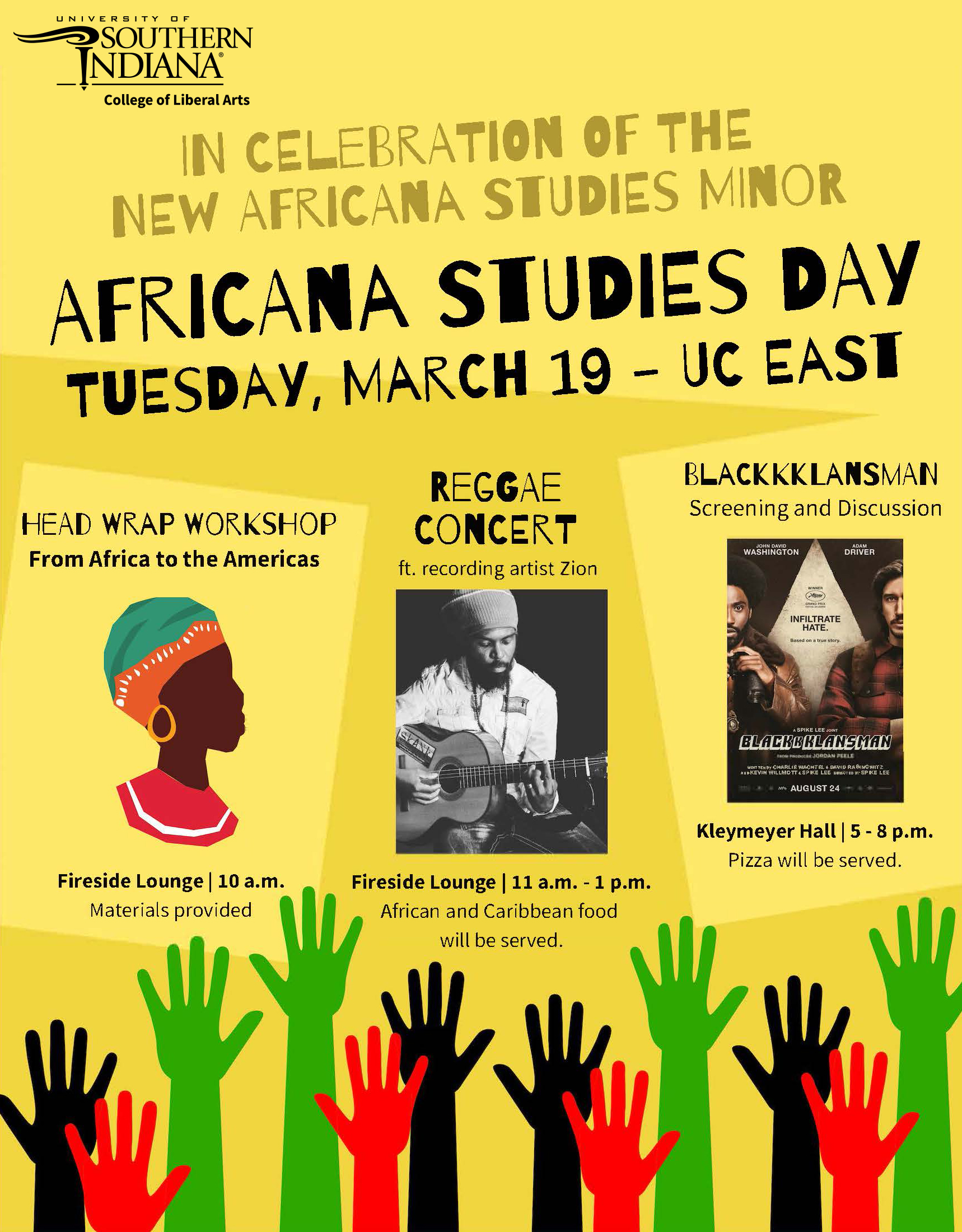 Africana Studies Day Events