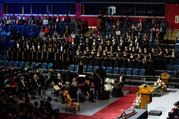 Tuskeegee University and USI Choirs
