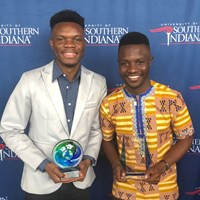 Image for Tshite, Degbe earn honors at International Graduates recognition ceremony