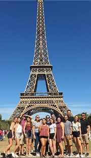 Students who are in USI Study Abroad program