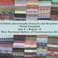 "Image for New Harmony Gallery hosts Philip Campbell exhibition, ""Childish, Emotionally Insecure and Grandiose"""