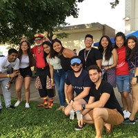 International students experience first Fourth of July in Evansville