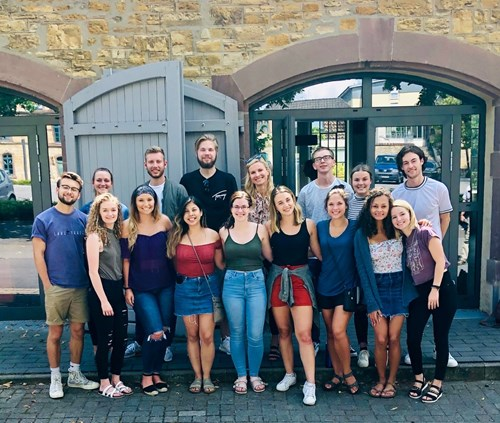 USI students in Germany