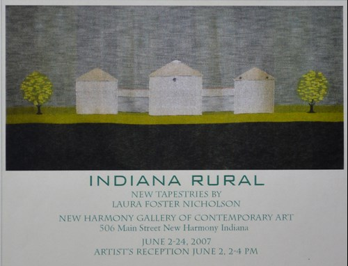 Indiana Rural Tapestries by Laura Foster Nicholson