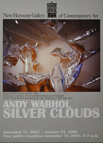 And Warhol Silver Clouds