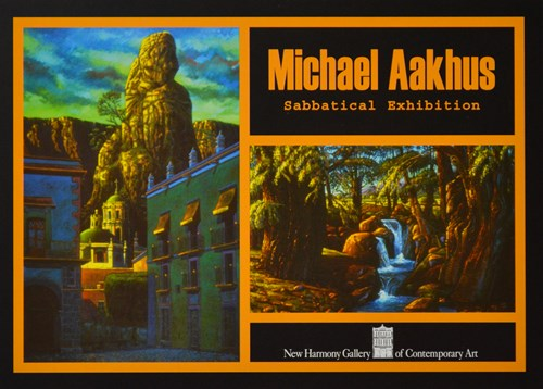 Michael Aakhus sabbatical exhibition