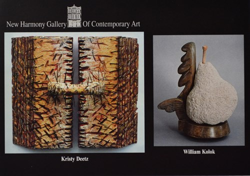 2 sculptures by Kristy Deetz and William Kolok