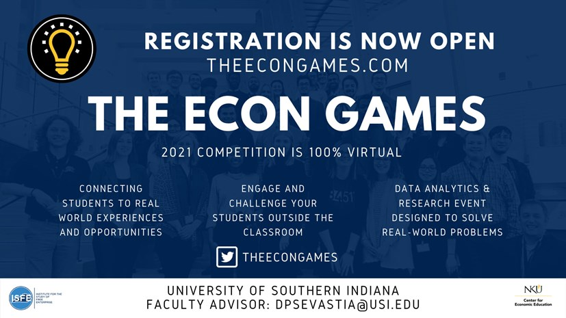 Econ Games 2021 Virtual Competition