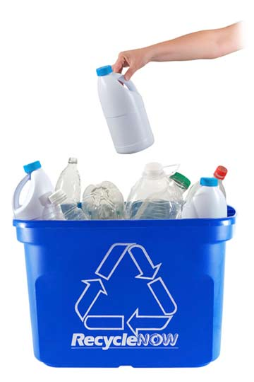 Plastic recycling facts university of southern indiana for Recycled plastic containers