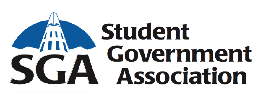 the logo for student government association