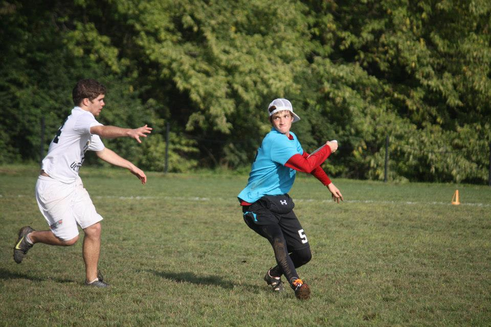 Men's ultimate frisbee club sport